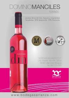 Vino rosé Dominio de Manciles, Rosado