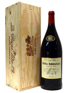 Vino rosso Viña Ardanza  en caja de madera (Magnum)