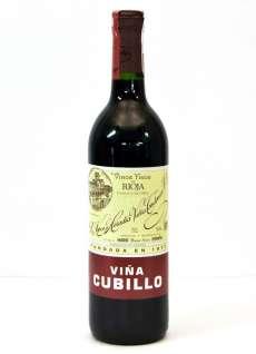 Vino rosso Viña Cubillo